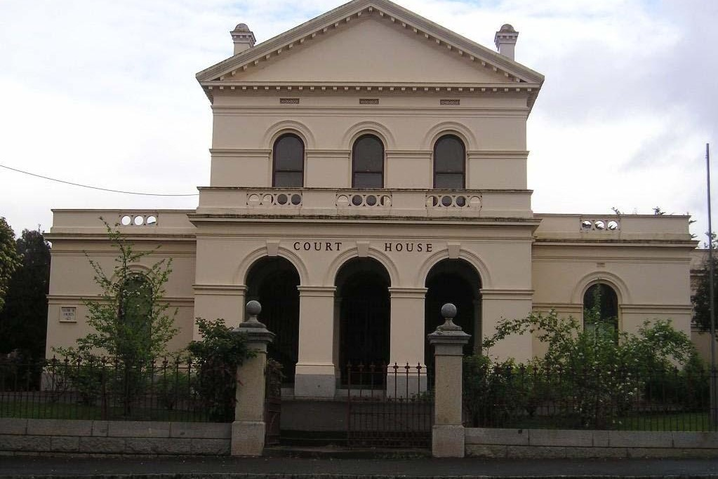 Outside view of Castlemaine Magistrates' Court
