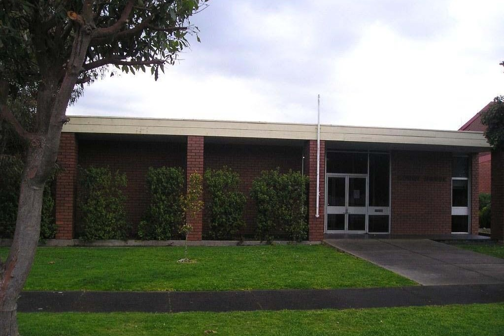 Outside view of Colac Magistrates' Court