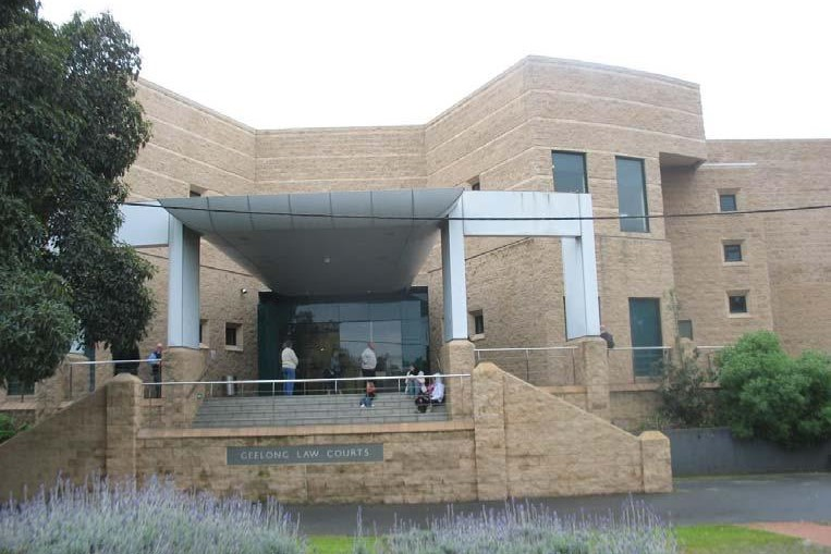 Outside view of Geelong Magistrates' Court