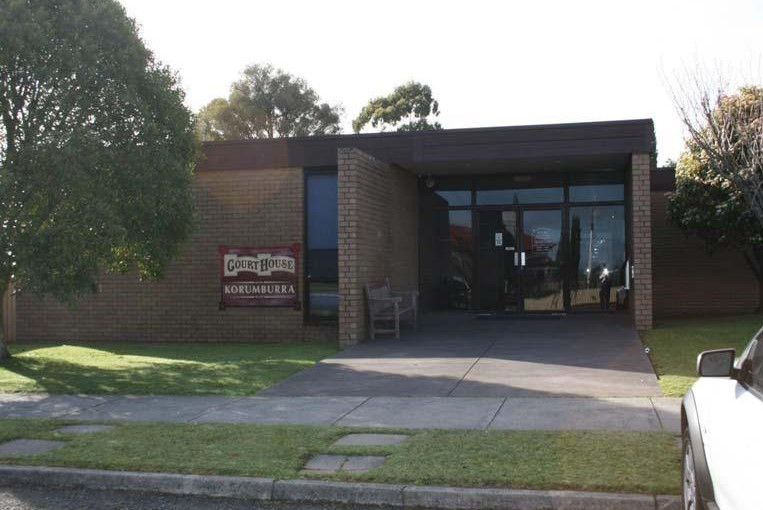Outside view of Korumburra Magistrates' Court