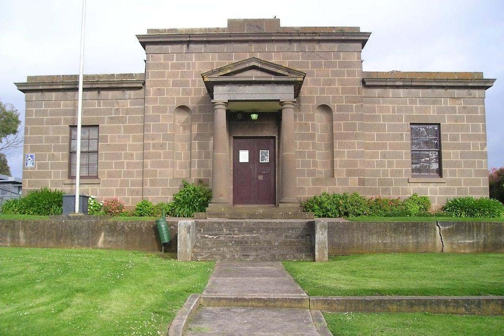 Outside view of Portland Magistrates' Court