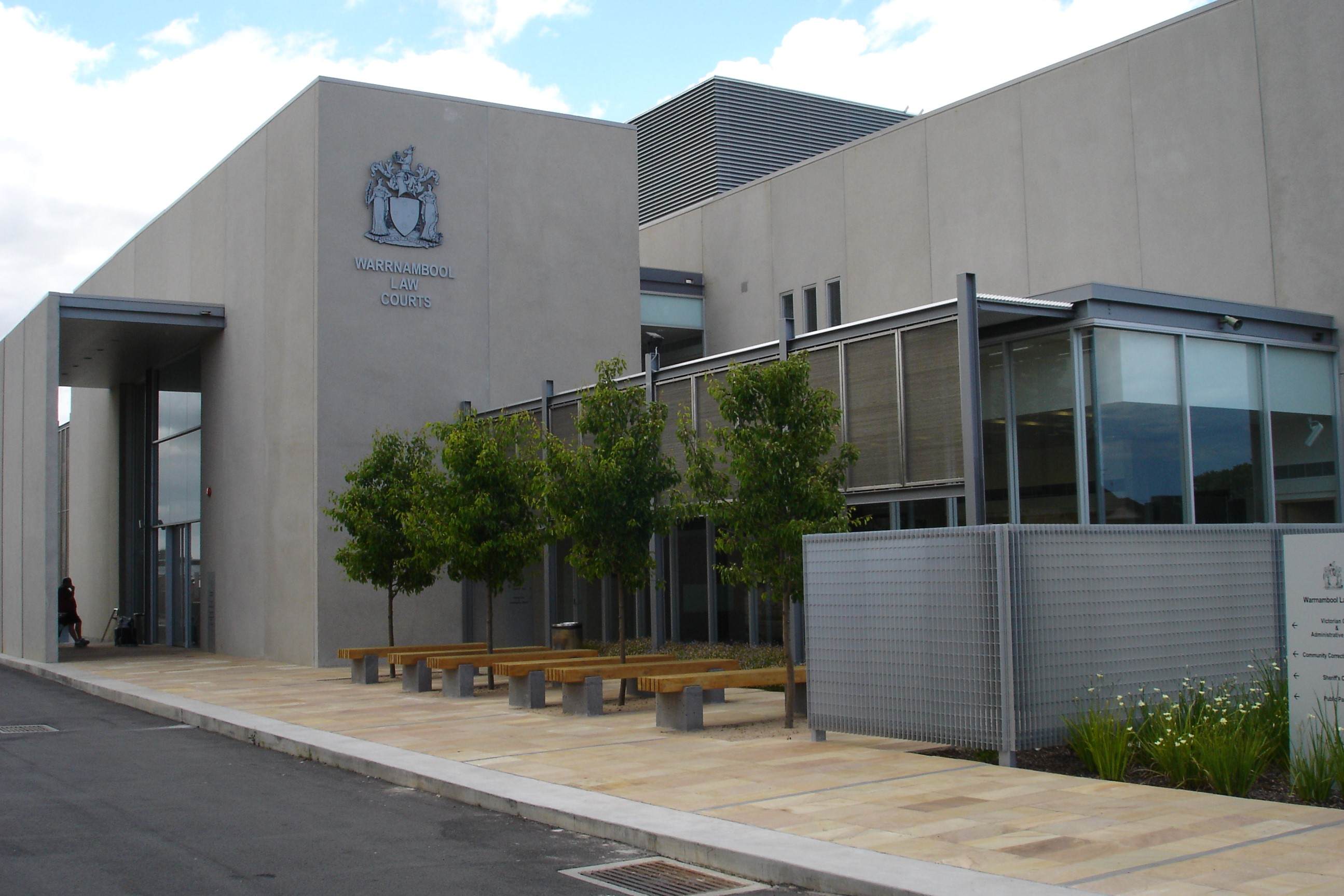 Outside view of Warrnambool Magistrates' Court